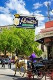 Ristorante di EL Floridita a Avana immagine stock libera da diritti