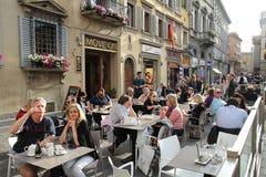 Ristorante di Firenze Immagini Stock