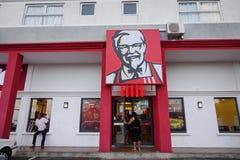 Ristorante di KFC in Mahebourg, Mauritius immagine stock