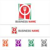 Ristorante di logo Immagini Stock