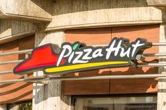 Ristorante di Pizza Hut Immagini Stock