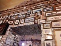 Ristorante di Poshta a Leopoli fotografia stock libera da diritti