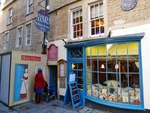 Ristorante di Sally Lunns, BAGNO, INGHILTERRA, Regno Unito immagine stock libera da diritti