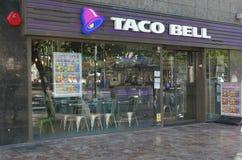Ristorante di Taco Bell Fotografia Stock