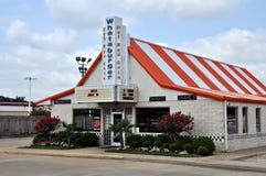 Ristorante di Whataburger in Tyler il Texas 2012 Fotografia Stock Libera da Diritti