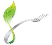 Ristorante ecologico verde Immagini Stock