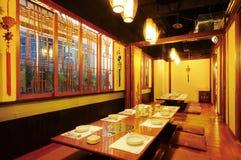Ristorante giapponese Fotografia Stock