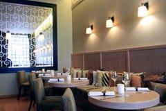 ristorante interno Immagini Stock Libere da Diritti