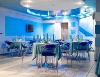 ristorante interno Fotografia Stock