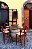 Ristorante italiano Fotografie Stock Libere da Diritti