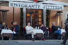 Ristorante pizzeria Stock Photography