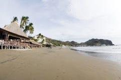 Ristorante San Juan del sur Nicaragua immagine stock libera da diritti