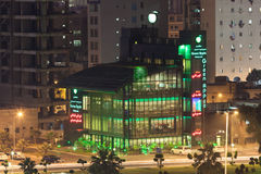 Ristorante verde di Apple nel Kuwait Fotografia Stock Libera da Diritti