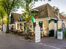 Ristorante Vlieland, Olanda Immagine Stock Libera da Diritti