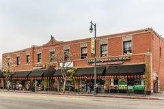 Ristoranti e depositi in Chinatown, Los Angeles California Immagine Stock Libera da Diritti