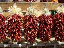 ristras перца chili Стоковая Фотография RF