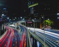 Risultati di traffico di ora di punta Immagini Stock