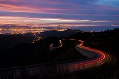 Risveglio al tramonto. Fotografie Stock Libere da Diritti