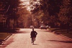 Rit weg fiets Royalty-vrije Stock Foto's