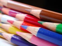Rita crayons Royaltyfri Fotografi