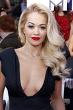 Rita Ora. At the 2014 MTV Movie Awards held at the Nokia Theatre L.A. Live in Los Angeles, USA on April 13, 2014 stock photography