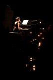 Rita Redshoes Performing Live at Teatro São Luiz Royalty Free Stock Image