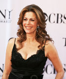 Rita Wilson. Actress Rita Wilson arrives on the red carpet of the 60th Annual Tony Awards at Radio City Music Hall in New York City on June 11, 2006 Stock Images