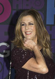 Rita Wilson. Actress Rita Wilson arrives on the red carpet for the New York premiere of Season 4 of HBO premium cable television's  Emmy-winning hit comedy Royalty Free Stock Images
