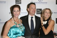 Rita Wilson, Sheryl Crow, Tom Hanks Royalty Free Stock Images