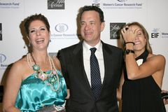 Rita Wilson, Sheryl Crow, Tom Hanks. Rita Wilson with Tom Hanks and Sheryl Crow at the 14th Annual Saks Fifth Avenue's 'Unforgettable Evening' benefiting the Stock Photos