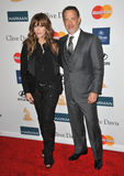 Rita Wilson, Tom Hanks Royalty Free Stock Photos
