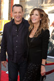 Rita Wilson, Tom Hanks Royalty Free Stock Photos