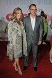 Rita Wilson Tom Hanks royaltyfria bilder