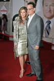 Rita Wilson Tom Hanks Arkivfoto