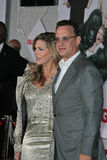 Rita Wilson Tom Hanks Royaltyfri Bild
