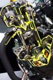 Ritaglio del motore da Honda Fotografie Stock