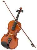 Ritaglio del violino Immagine Stock Libera da Diritti