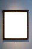 Ritaglio dello spazio in bianco dell'immagine della pittura di Art Museum Frame Vintage Ornate Immagini Stock Libere da Diritti