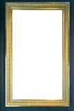 Ritaglio dello spazio in bianco dell'immagine della pittura di Art Museum Frame Vintage Ornate Immagine Stock Libera da Diritti