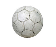 Ritaglio di gioco del calcio della sfera di calcio Fotografie Stock