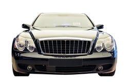 Ritaglio di lusso tedesco di vista frontale dell'automobile Immagine Stock Libera da Diritti
