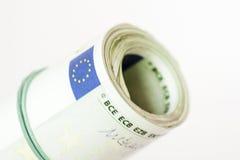 Ritaglio rotolato dei soldi Immagine Stock Libera da Diritti