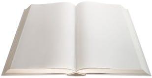 Ritaglio vuoto delle pagine Fotografia Stock