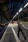 In ritardo per il treno Fotografia Stock Libera da Diritti