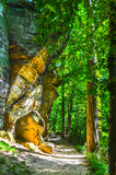 Ritchie Ledges - Cuyahoga Valley National Park - Ohio Royalty Free Stock Images