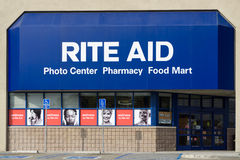 Rite Aid Pharmacy Store Exterior Royalty Free Stock Photography