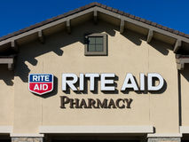 Rite Aid Pharmacy Store Exterior Stock Photography