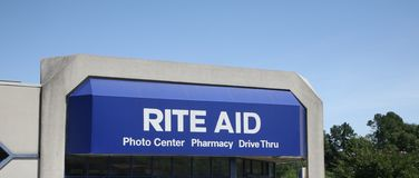 Rite Aid. Photo center, pharmacy and convenience grocery store Stock Images