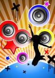 Ritenga la musica Fotografia Stock