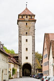 Rithenburg ob der Tauber Stock Photo